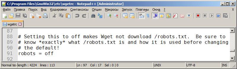 robots = off